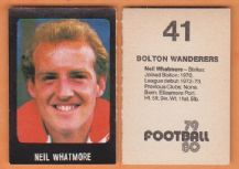 Bolton Wanderers Neil Whatmore